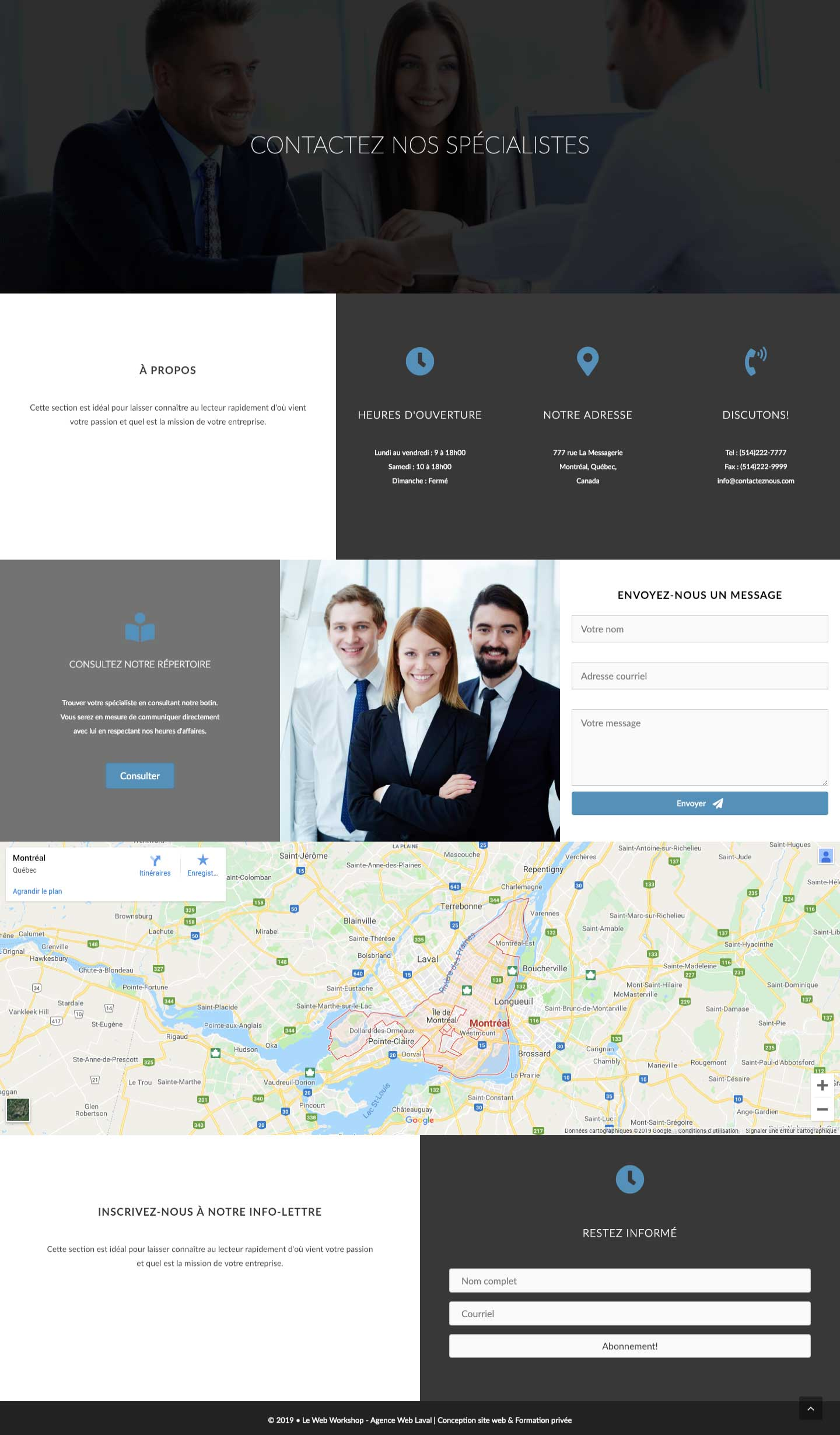 Modele-page-web-contact-moderne