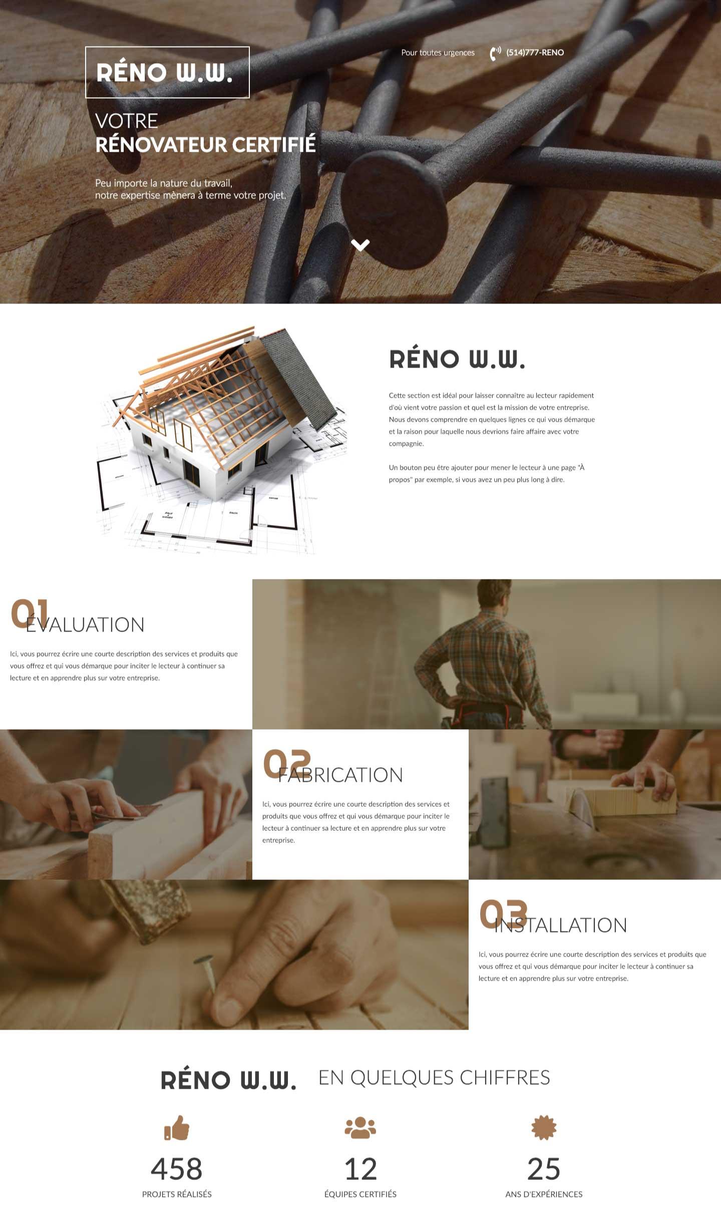 Modele-page-web-renovation-Conception-site-web