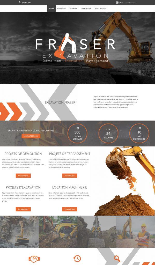 Excavation-Fraser-Web-Agence-Web-Laval